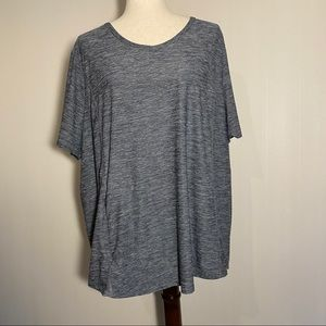 Duluth Trading Co, Grey Short Sleeve Athletic Top